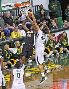 Brittney Griner blocks another shot against The Missouri Tigers here in Waco last night. I love capturing her blocks.