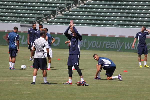 Spurs Practice 2012