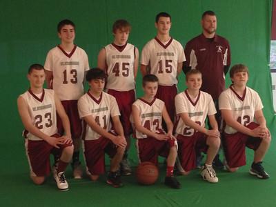 St A 7th & 8th grade A team photo