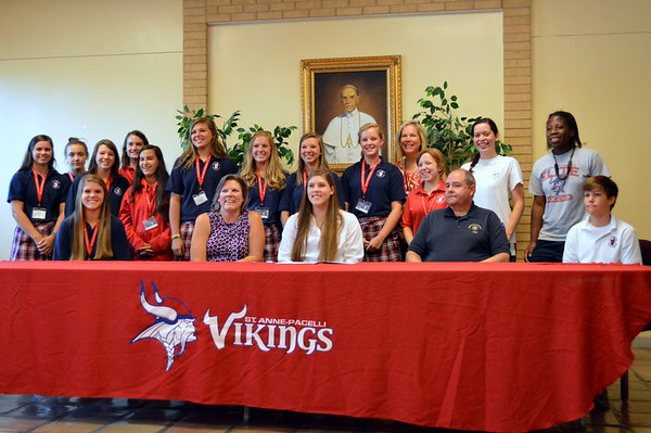 2013 CSU Signing - Colleen Gottfried