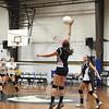 Abigail Browchuk big save with Hannah Bagley assisting