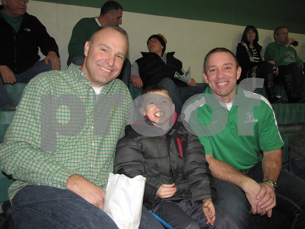 Tim Krayenbrink, Jaden, and Rick McCarville attended the JV girls BB game at St. Edmonds.