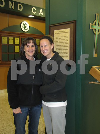 Maureen Crimmins with her daughter Liz.
