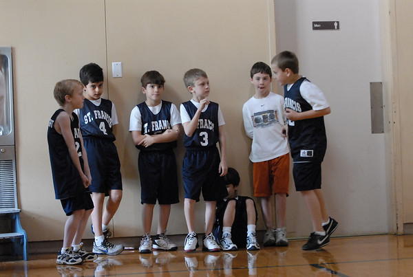 St. Francis basketball - 02/09/2008