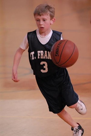 St. Francis basketball - 02/23/2008