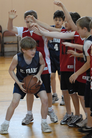 St. Francis basketball - 03/01/2008