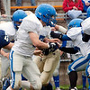 Record-Eagle/Douglas Tesner<br /> <br /> Football St Francis vs Kalkaska