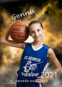 5x7 Individual genna