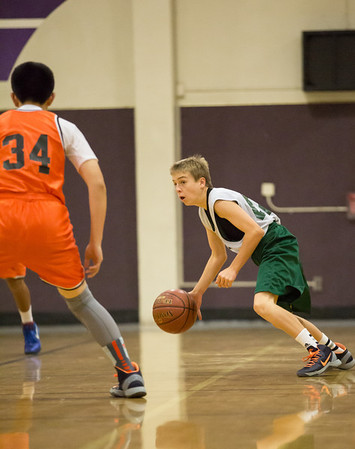 Jack Reed St Isidore 8th grade basetball