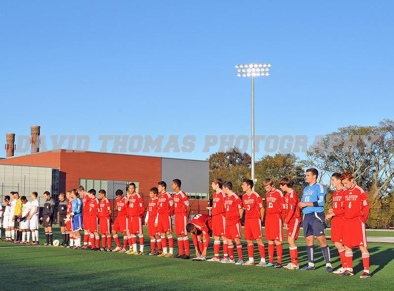 St John the Baptist vs St Anthony's Boys Soccer 2011