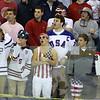 KEN YUSZKUS PHOTO: St. John's Prep fans react during the St. John's Prep vs Springfield Cathedral semifinals.