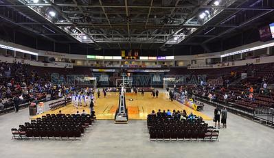 St. Michael's vs Portales boys basketball March 11, 2015