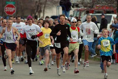 St. Patrick's Day 5K, March 12, 2005