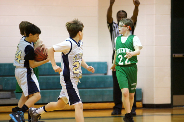 6th Grade Gold Playoff Game vs Pinewood