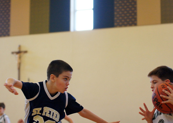 January 2013- St Pete 6th Grade Gold vs Blessed Sacrament