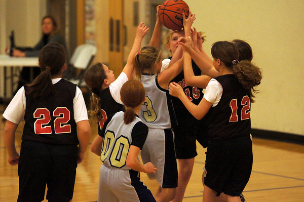 January 2013- St Peter's 5th Grade Ladies vs SCPS