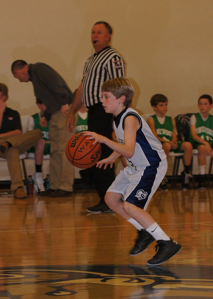 St Pete's Blue & Gold 6th Grade Men on January 31
