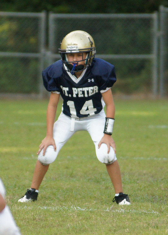 2013 St Peter's Homecoming- JV vs BSS