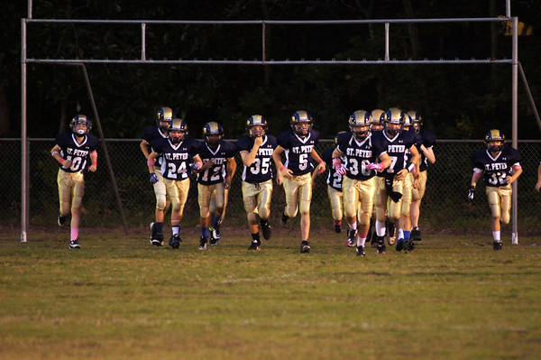 October 2013- Varsity Homecoming vs BSS