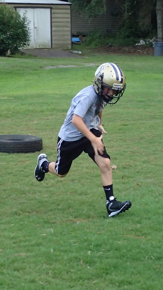 Ram Football 2013- Practice