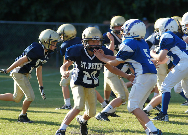 September 12, 2013- St Pete JV vs St James