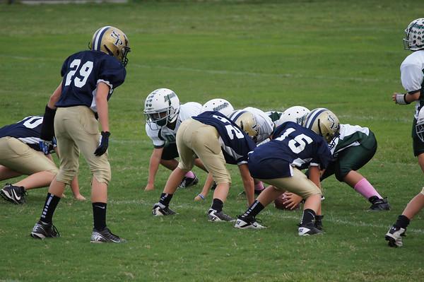 September 2012- Rams JV vs BSS