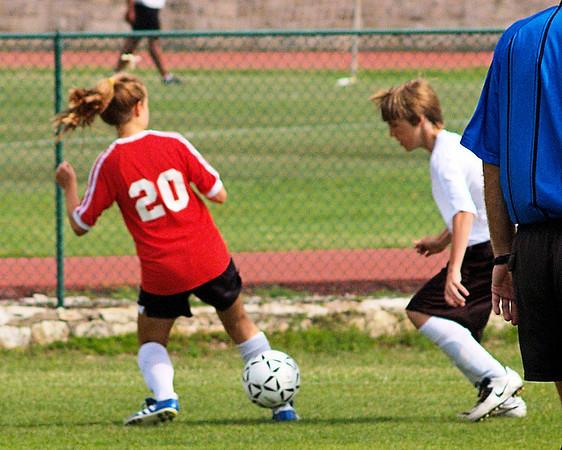 St. Theresa's 7-8 Soccer vs.  St. Stephens 5.12.2009