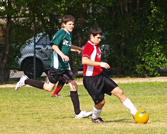 St. Theresa's 7-8 Soccer vs. St. Louis 4.23.2009