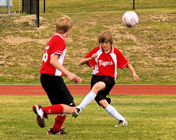 St. Theresa's 7-8 Soccer vs. St. Gabriel's 4.14.2009