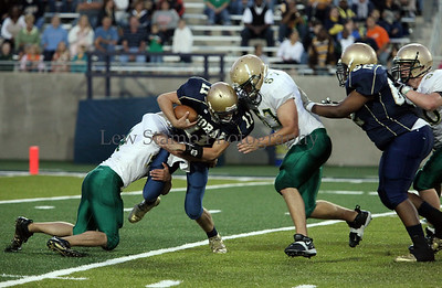 St Vincent St Mary High School vs Archbishop Hoban High School on September 18, 2009, in at Infocision Stadium, in Akron, Ohio.  By LewStampPhotography.smugmug.com