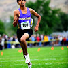 "Boulder High senior Dominic Cabada runs through the finish line in second place at the varsity race of the St. Vrain Cross Country Invitational at Lyons Middle-Senior High School in Lyons, Saturday, Sept. 12, 2009. The invitational brought teams from all over Colorado to compete.<br /> <br /> For more photos please visit  <a href=""http://www.dailycamera.com"">http://www.dailycamera.com</a><br /> <br />  DAILY CAMERA/Kasia Broussalian"