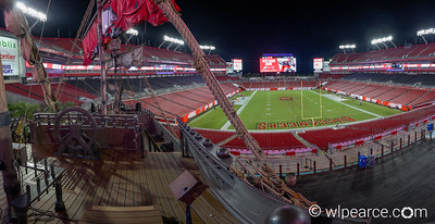 Raymond James Stadium.  Tampa Bay Buccaneers.  Tampa, FL