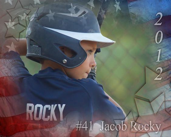 Jacob Rocky patriotic memory mate