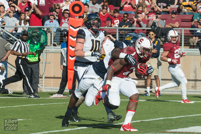 Cal had no answer for Ty Montgomery