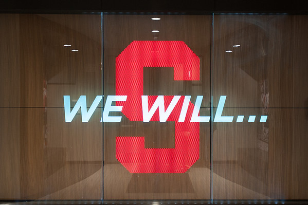 When recruits enter the facility, this greets them.