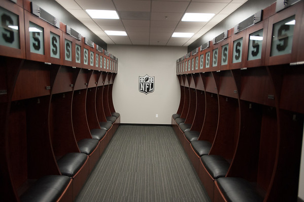 """They actually have a """"Pro locker room"""" since so many pros/ alums come to workout in the offseason."""