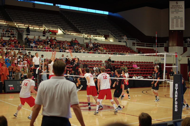 Stanford Men's Volleyball vs CSN, MPSF Finals 6