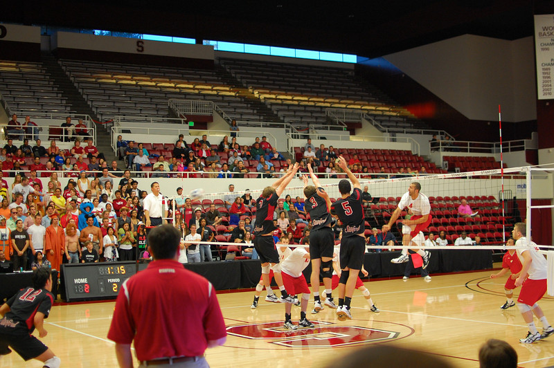Stanford Men's Volleyball vs CSN, MPSF Finals 11