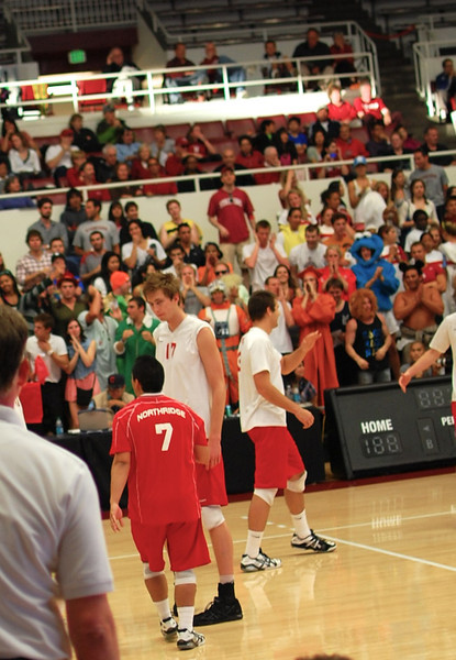 Stanford Men's Volleyball vs CSN, MPSF Finals 2