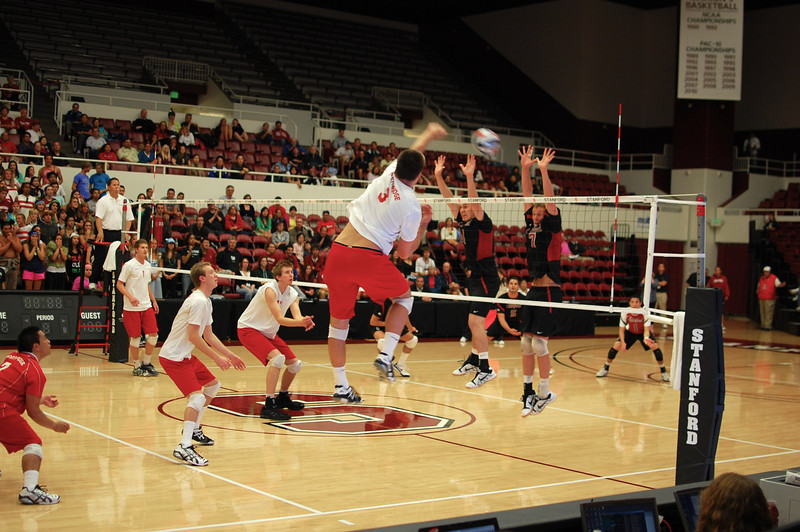 Stanford Men's Volleyball vs CSN, MPSF Finals 30