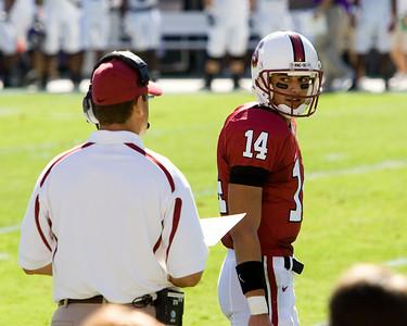 Coach and QB.