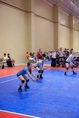 Stars Volleyball in Charleston 4-2014