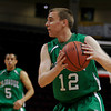 Sandia Prep boys basketball team beats Pojoaque, 52-33, during the quarterfinals of state basketball play at the Santa Ana Star Center in Albuquerque, N.M. on Mar. 10, 2010.<br /> Natalie Guillén/The New Mexican