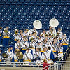 Record-Eagle/Jan-Michael Stump<br /> The Traverse City St. Francis band nearly had an entire section to themselves for Saturday's state final game against Ubly at Ford Field in Detroit.