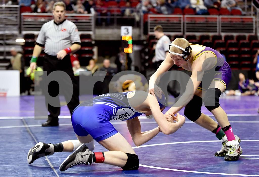 1A State Wrestling Thursday