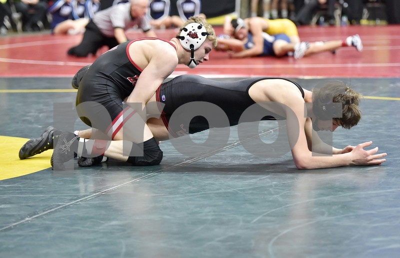 3A State Wrestling first round Thursday