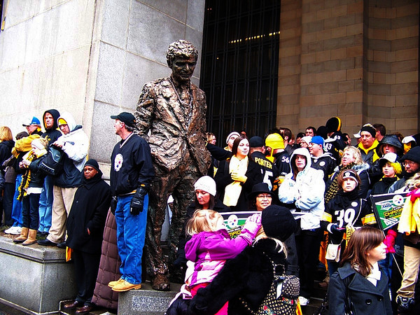 Steeler's Superbowl Home Parade