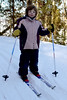 Stella, four years old, on X-country skis this year.<br /> February, 2007