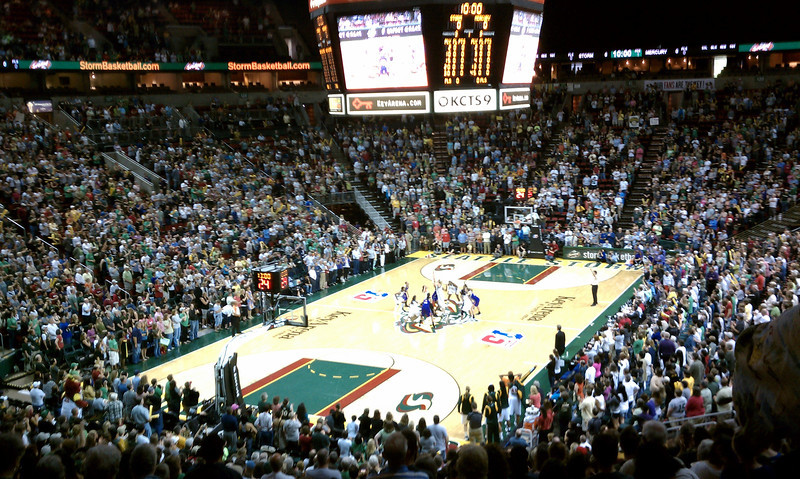 Opening tipoff 2011