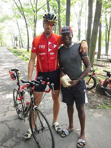 PK and his lil' friend, Emeka :-)